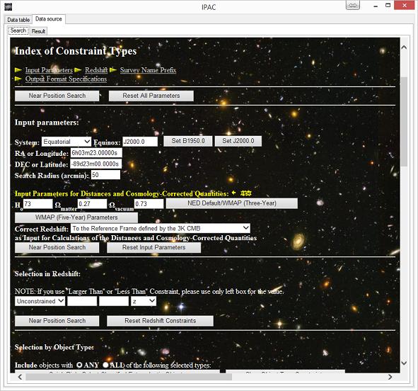 NASA/IPAC Extragalactic Database