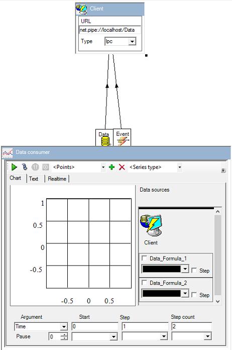 Simple client