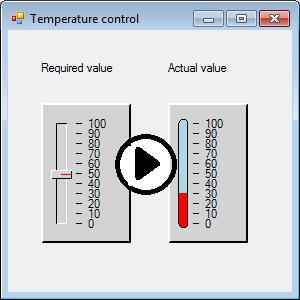 Simple control system UI